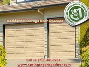 Garage Door Opener Replacement Spring Houston,  TX