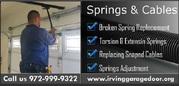 Irving – Garage Door repair | Garage Door Spring Repair only $26.95