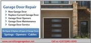 New Garage Door Installation Service Carrollton,  TX Starting $ 26.95