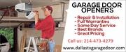 Get Affordable Garage Door Spring Repair Services Dallas,  TX