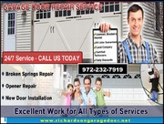 Top Most Garage Door Repair and Installation company in Richardson,  TX