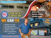 Professional Garage Door Spring Repair ($25.95) Frisco Dallas,  TX