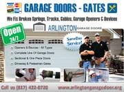 24 hour | Emergency Garage Door Spring Repair ($25.95) Arlington,  TX