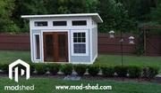 Custom Modular D.I.Y. Modern Sheds from ModShed