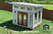 Custom Modular DIY Peapod Sheds from ModShed